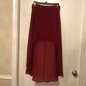 Forever 21 flowy summer skirt!